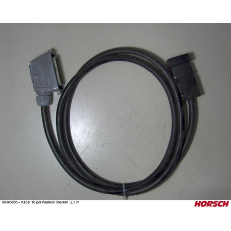 kabel 2,5 m 00345035