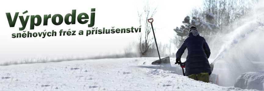 Výprodej sněhových fréz a příslušenství